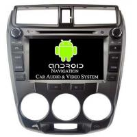 China HD 2008 - 2012 Honda Android Car Stereo Head Unit For Honda City Manual A/C on sale
