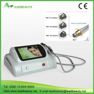 China Fractional rf radiofrequency microneedle skin rejuvenation machine on sale