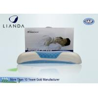 Bamboo Fiber Memory Foam Sleep Pillow With Cool Gel , Lux Living Gel Pillow