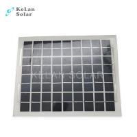 Sun Power Crystalline Semi Flexible Solar Panel 10Wp Water Proof  For Boat / Car