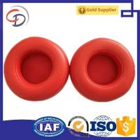 Free samples Replacement Black red White Protein leather Ear Pad Cushion Cups Cover for Dr. Dre Pro headphones