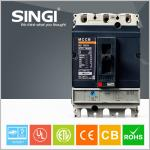 SINGI 160amp Moulded Case Circuit Breaker mccb for industrial , commercial