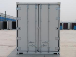 China 40'RH Refrigerated Iso Containers White General Purposes Corner Casting on sale