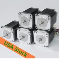 [USA3-5days fast ship] Wantai 5PCS Nema23 Stepper Motor 425oz-in 115mm 3A CE ROHS ISO Engraver Laser Machine CNC DIY