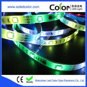 China 12mm 5050 smd rgb led pixel ws2811 strip on sale
