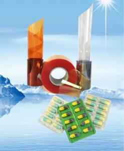 China 着色された堅い食品等級/医学ポリ塩化ビニールのフィルムはシート ポリ塩化ビニール突き出ました on sale