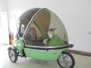 China 200kgs load Top quality full closed three wheels tricycle on sale