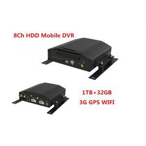 China 8 Channel Car Mobile DVR Real Time HDD Vehicle Car DVR With 3G 8V-36V on sale