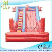 Hansel 2017 hot selling PVC outdoor play area inflatable toys