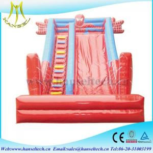 China Hansel 2017 hot selling PVC outdoor play area inflatable toys on sale
