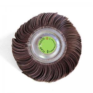 China Abrasive Polishing Wheels , Zirconia Alumina Grinding Wheels For Metal Surface Finishing on sale