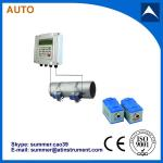 Wall Mounted Clamp On Type Ultrasonic Flowmeter/Fixed Ultrasonic Flow Meter with reasonabl