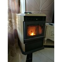 Removable Ash Box Indoor Pellet Stove Freestanding With Self Cleaning System