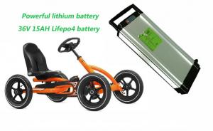 China Powerful Lifepo4 36V LiFePO4 Battery Pack 15AH For Electric Cart on sale