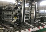 Automatic layer chicken cage system for South Africa poultry farm