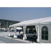 Anti  Leakage / Mildew Exhibition Stand Tent Zinc Powder - Coated Steel