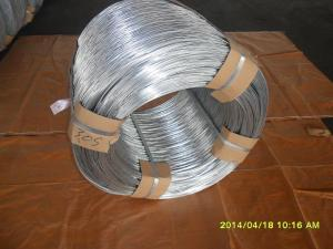 China 16# hot dip galvanized steel wire on sale