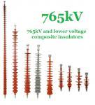 aislador compuesto del polímero de 765 kilovoltios, línea de transmisión estándar del IEC aisladores