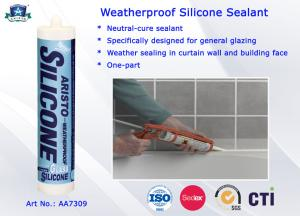 China Sellante neutral líquido del silicón del Anti-hongo a prueba de mal tiempo para la construcción/la fibra y la ropa on sale
