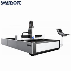 China Industrial use CNC fiber laser cutter machine 6015 1000W for matal sheet on sale