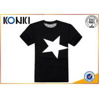 Summer Mens Casual Custom T Shirt Printing Personalised With Short Sleeve