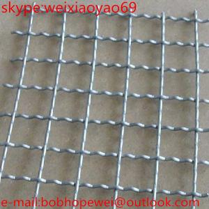 China stainless steel crimped wire mesh for mining sieve/304 304l 316 316L crimped wire mesh/304 304l 316 316L crimped wire on sale