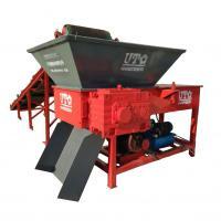 China hot sale solid waste crusher, single shaft shredder, plastic cutting machine, solid jumbo block waste crusher, recycling on sale