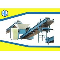 Agricultural Organic Food Waste Shredder Machine 15mm Cutter Thickness