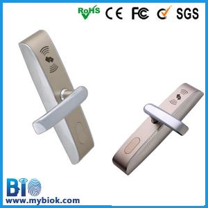 China Hot electronic handle Door Lock IC card supported Bio-LM702 on sale