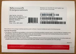 China 100% Activation Windows Server 2012 R2 Standard , English Windows 2012 R2 License on sale