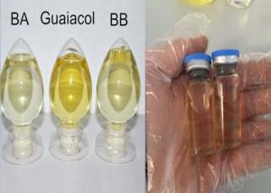 China Guaiacol Oil Based Steroids CAS 90 05 1 Light Yellow Liquild Powerful Hormone Solvent on sale