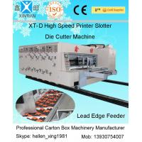 Single Slotting Carton Folding Machine Pneumatic-Flapping For Cardboard With High Speed