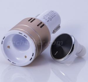 China Bluetooth Hands-Free Headset USB Car Charger, Single Port USB Car Carger 2.8A on sale