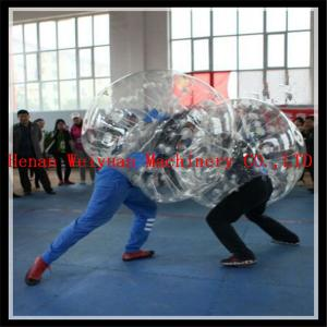 China buddy bumper ball for adult inflatable human soccer bubble ball for football on sale