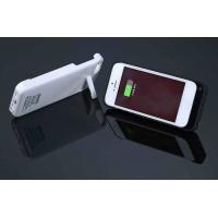 Lightweight White IPhone 5 External Battery Case Portable For Protecting Battery