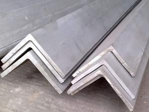 China High Tensile Angle / Steel Stainless Steel Angle Bar 201 , 202 , 304 Grade For Heat Exchange on sale
