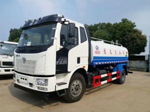 China 4x2 10m3 Diesel Water Tank Truck With Power Steering / Street Washing Truck on sale