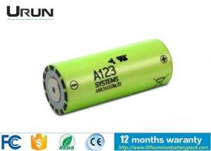 China Panasonic Lithium Ion Battery , Lithium Ion Battery Safety 3.3V 2500mAh on sale