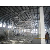 China Light Weight Steel pipe Scaffolding For Boiler , aluminum folding scaffold on sale