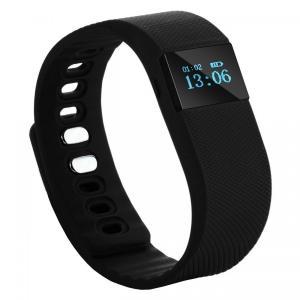 China Compatible TW64 Smart Bluetooth Fitness Bracelet / Sports Activity Bracelet Rubber on sale