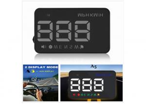 China Universal GPS Car Compass HUD 3.5 Inch Connect Car Cigarette Lighter 12V Car Charger on sale