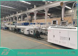 China 50~110 HDPE Pipe Extrusion Line HDPE Pipe Making Machine High Productivity on sale