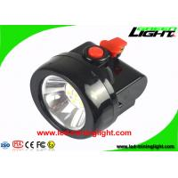 China 3.7V 450mA Cordless Mining Lights 10000 Lux Moisture Proof With Black Color on sale