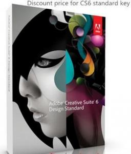 China Adobe Creative Suite 6 Design Standard For Mac , Adobe Graphic Design Software on sale