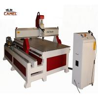 Jinan CAMEL 1325 4 axis cnc router round wood rotary carving machine for Sculpture and furniture