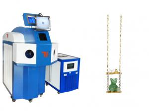 China 200W YAG Laser Welding Machine / Jewelry Laser Spot Welder with Water Cooling on sale