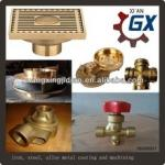 OEM High Precision Bronze Equal Tee Casting