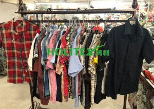 China Fashionable Second Hand Mens Short Sleeve Shirts American Style With All Size on sale