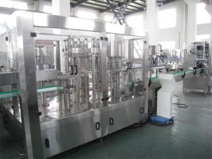 China 0.6MPa Pet Bottle Filling Machine For Hot Filling Production Line CE ISO Certificate on sale