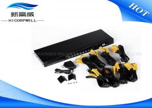 China Desktop Control 8 Port KVM Switch VGA USB Type A Female With Audio Multi Function on sale